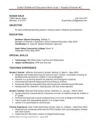 Sample Resume Objectives For Teachers Sample High School Special Education Teacher Resume Unique Special 35