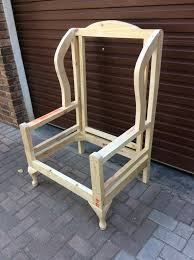 wooden chair frames for upholstery uk wooden designs
