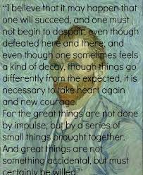 Vincent Van Gogh Quotes Awesome Vincent Van Gogh Quote Words Pinterest Van Gogh Quotes And Van