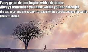 Dream On Dreamer Quote Best of Every Great Dream Begins With A Dreamer Quote Picture