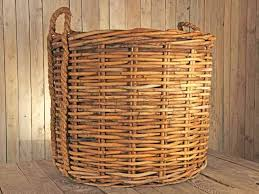 Large wicker basket Lid The Lows Giant Rope Wicker Basket Large Size Quickcrop Lows Giant Rope Wicker Basket