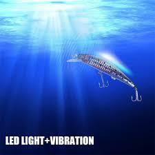 Fishing Bait Light Hot Item Underwater Led Fishing Bait Light Usb Rechargeable Twitching Lure