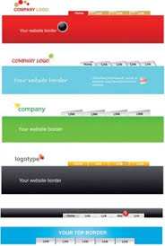 Header Template Word Header Footer Template Free Vector Download 19 013 Free