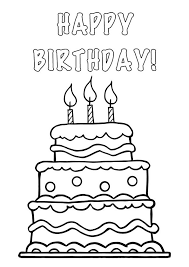 Small Picture Wide birthday cake with no candles clipar Clip Art Library