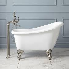 44 carter mini acrylic clawfoot tub