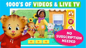 pbs kids app live tv