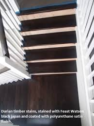 These Floating Timber Stairs In Ashgrove Are In The Process