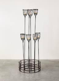 votive candle holder garden stake set