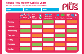 Activity Chart Kids Get A Free Activity Chart Now Fun Kids The Uks