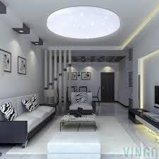 16w Led Deckenleuchte Kaltweiß Starlight Effekt Schön Rund Korridor