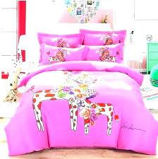 full size unicorn bedding kids horse sets set