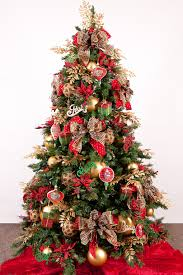 ... Cretive Modern Decoration For Christmas Tree With Red And Pink Ornaments  ...
