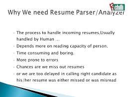 Resume Parsing Algorithm Best Parse Resume What Is Resume Parsing