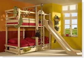 bunk beds with slide and swing. Delighful Slide A Collection Of 10 Cool Bunk Beds Treehouse Bed By Kidu0027s Room Truly  Unique In The Style A Treehouse Bedtime Doesnu0027t Need To Be Boring For Bunk Beds With Slide And Swing U