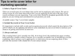 Communications Specialist Cover Letter Cover Letter For Marketing Specialist Rome Fontanacountryinn Com
