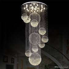 lighting large light fixtures modern chandelier crystal fixture for lobby staircase cool pendant canopy drum