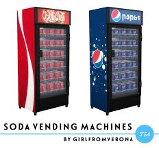 How To Fill Vending Machines Sims 4 Best Soda Vending Machines At The Verona Relapse Via Sims 48 Updates Check