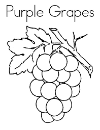 Small Picture Purple Grapes Coloring Pages Color Luna