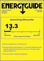 Seer Rating Chart Know Your Terms Heat Pump Efficiency Ratings Seer Hspf
