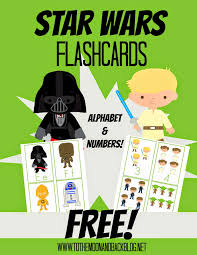 Free Star Wars Alphabet And Number Flashcards Free Printables