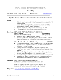 Resume Experience Resume Template Professional Experience Copy Professional 77
