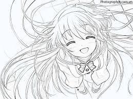 Tổng hợp các bức tranh tô màu anime đẹp nhất