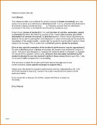 Letter Of Recommendation New Academic Letter Of Recommendation