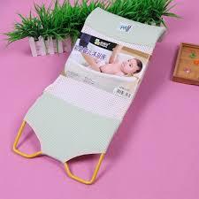 2019 new design foldable baby bath tub bed pad bath chair shelf baby shower nets newborn seat infant bathtub support from fragranter 54 47 dhgate com