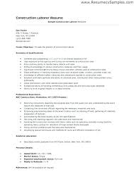 General Laborer Sample Resume General Laborer Sample Resume Essays ...