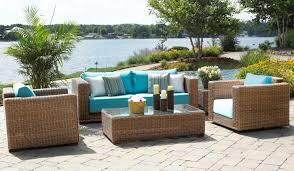 cozy outdoor wicker patio furniture sets