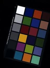 Gretagmacbeth Colorchecker Chart Left Gretagmacbeth Colorchecker Under Sylvana 50mr16q Light