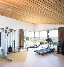 home gym lighting. Modern Home Gym Ideas Contemporary With Sliding Glass Window Wall Mount Range Hoods Lighting