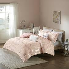 beautiful modern chic pink gold white