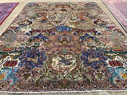 9x12 antique persian rug hand knotted pictorial iran rugs tree of life 10x13 ft 2