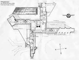 House Plan Usonian House Plans  Frank Lloyd Wright Home Plans Frank Lloyd Wright Floor Plan