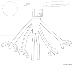 Minecraft Mutant Creeper Coloring Pages At Getdrawingscom Free