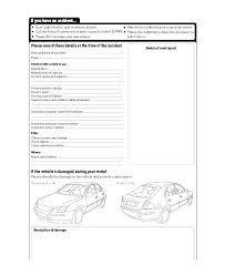 Traffic Accident Report Template