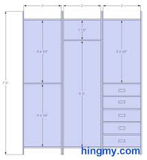 Standard Closet Rod Height Classy Standard Closet Measurements This Design Is Meant Be As Versatile
