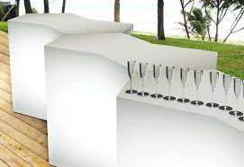 modern outdoor bar furniture modern acrylic iceberg outdoor bar counter 3 zuo modern outdoor bar stools