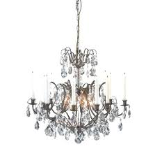 crystal candle chandelier non electric lighting outstanding non electric chandeliers chandelier candle home diy ideas