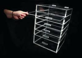 acrylic cosmetic organizer with drawers large acrylic makeup organizer with 5 6 or 7 drawers ideas acrylic cosmetic organizer with drawers