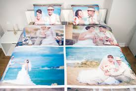 personalised photo duvet cover