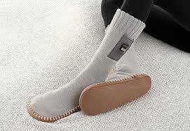 Heated Slipper Socks Sharper Image