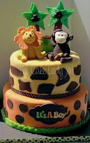 Safari Themed Baby Shower Cakes  Party XYZBaby Shower Safari Cakes