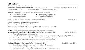 Marketing Manager Career Objective Bartender Resume Objective