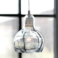 hand blown glass pendant lights hand blown glass pendant lamp shades