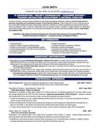 Project Coordinator Sample Resume Free Resume Templates 2018