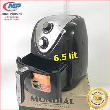 Nồi chiên không dầu siêu to dung tích 6.5 lít Mondial máy cơ siêu bền Bảo  hành 12 tháng