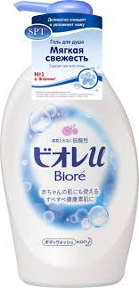 Biore <b>Гель для душа</b> Biore Мягкая <b>свежесть</b>, 480 мл — купить в ...