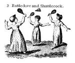 Images & Illustrations of battledore and shuttlecock